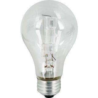 Feit Electric Q72A/CL/2 72 Watt Clear Instant On Energy Saver Halogen 2-count