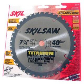 Skil 75940 SkilSaw Titanium Finishing & Crosscutting Saw Blade
