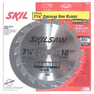 Skil 75302 2-Piece Circular Saw Blade Set