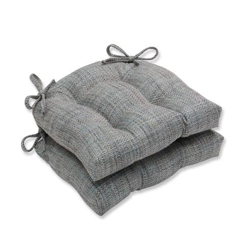 Pillow Perfect Tweak Mineral Reversible Chair Pad (Set of 2)