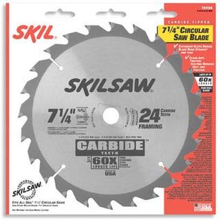 Skil 75718 Ripping & Framing Carbide Tipped Circular Saw Blades