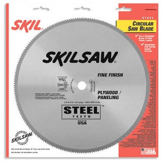 "Skil 74705 7¼"" 150T Fine Finish, Plywood & Paneling Circular Saw Blade"
