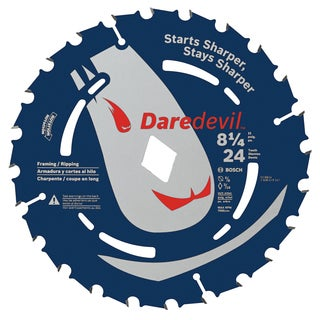"Daredevil DCB824 8-1/4"" 24 TPI Daredevil Blade For Portable Saws"