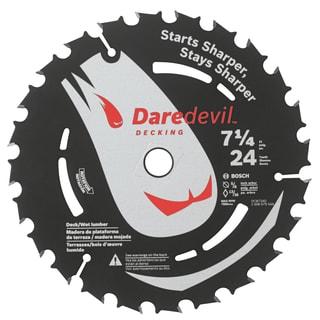 """Daredevil DCB724D 7-1/4"""" 24 TPI Daredevil Blade For Portable Saws"""