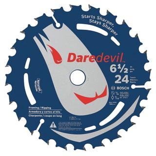 """Daredevil DCB624 6-1/2"""" 24 TPI Daredevil Blade For Portable Saws"""