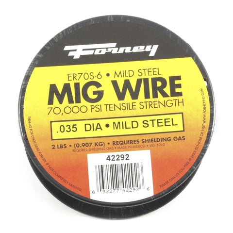 """Forney 42292 .035"""" 2 Lb. ER7OS-6 Welding Wire"""