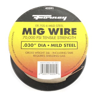 """Forney 42291 .03"""" 2 Lb. ER70S-6 Weld Wire"""