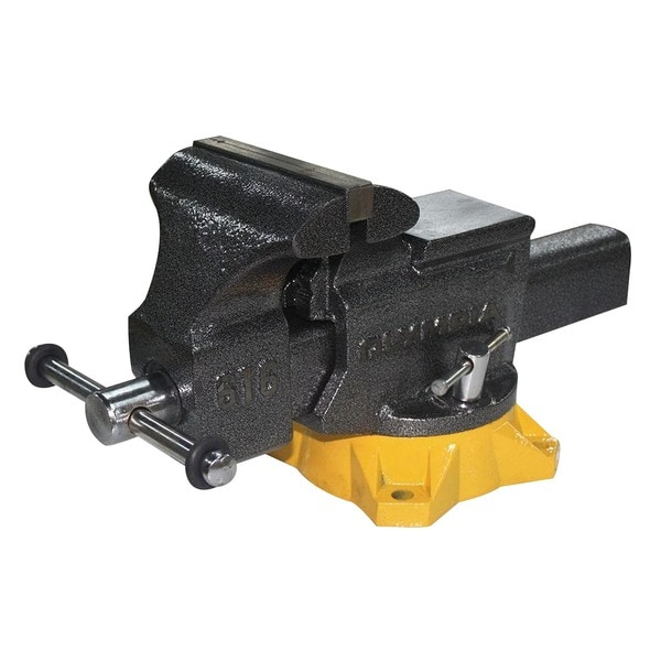 """Olympia Tools 38-616 6"""" Bench Vise. Opens flyout."""