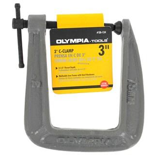 "Olympia Tools 38-134 3"" X 4-1/2"" C-Clamp"