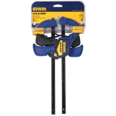Irwin Quick-Grip Bar Clamp 6 in. L 2 pk
