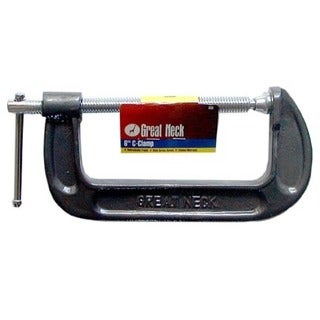 """Great Neck CC6 6"""" Adjustable C Clamps"""