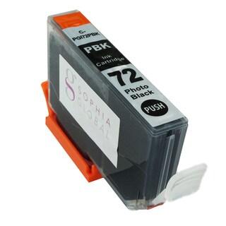 Sophia Global Compatible Ink Cartridge Replacement for PGI-72 (1 Photo Black)