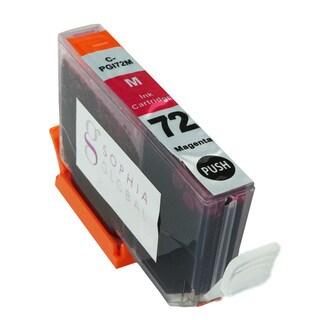 Sophia Global Compatible Ink Cartridge Replacement for PGI-72 (1 Magenta)
