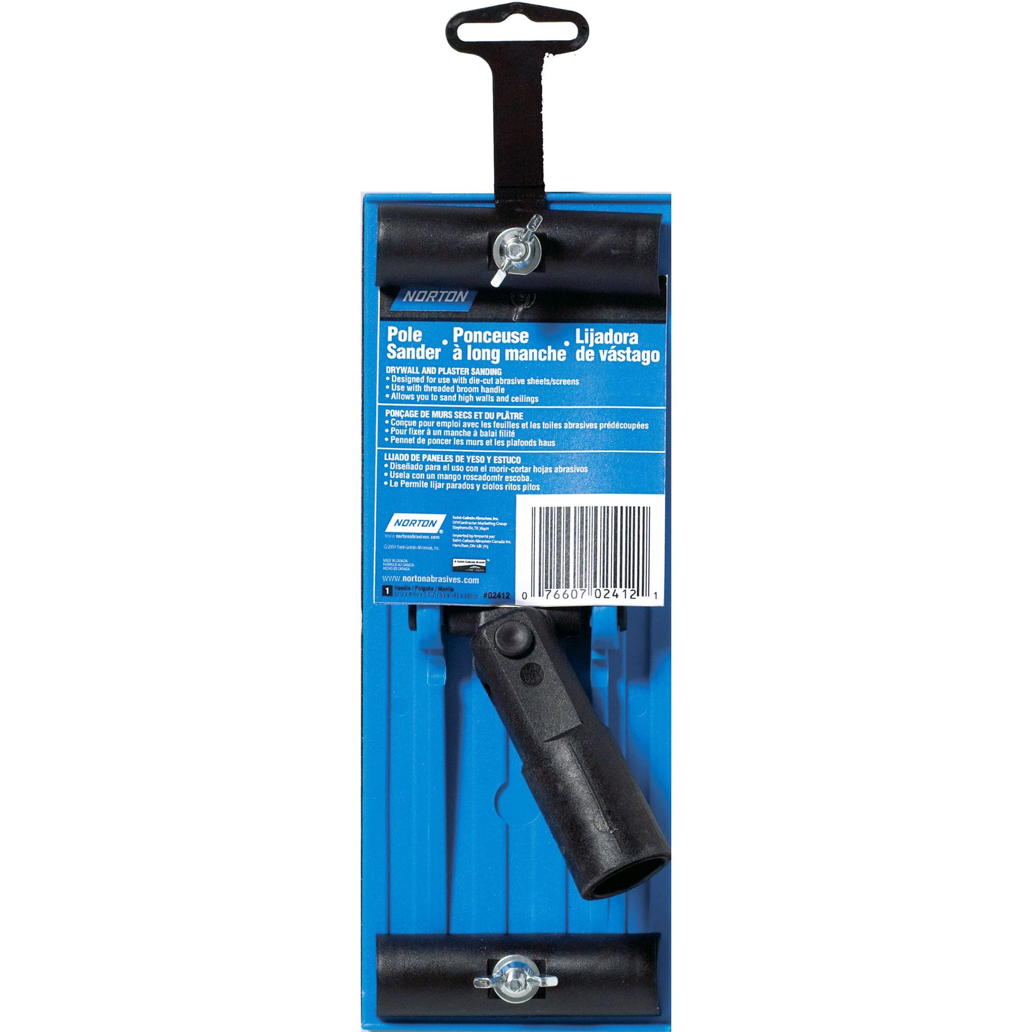 HYDE 09170 Vacuum Hand Sander Kit,6 Pc,Pole Adapter