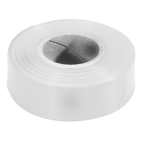 "Irwin Strait Line 65904ZR 1-3/16"" X 300' White Flag Tape"