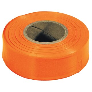 Irwin Strait Line 65902 300' Orange Flagging Tape