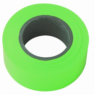 "Irwin Strait Line 65604 1-3/16"" Lime Fluorescent Flagging Tape"