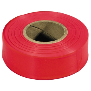 Irwin Strait Line 65901 300' Red Flagging Tape