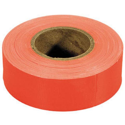 Irwin Strait Line 65602 150' Orange Fluorescent Flagging Tape