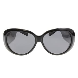 Christian Audigier Cas 410 Black Sunglasses