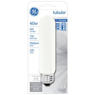 GE Lighting 45145 T10 Showcase Tubular Light Bulb