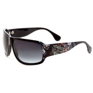 Ed Hardy Las Vegas Rock Black Sunglasses