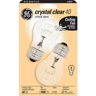 GE Lighting 44409 Ceiling Fan Bulb