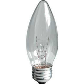 GE Lighting 44405 60 Watt Clear Blunt Tip Light Bulbs 2-count