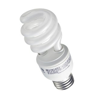 GE Lighting 42108 13 Watt CFL Spiral Soft White Light Bulb