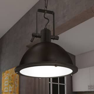 Rustic mini pendant lights for less overstock vonn lighting dorado 11 inches led pendant light adjustable hanging industrial pendant lighting in architectural aloadofball Gallery