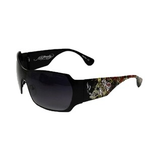 Ed Hardy EHS BRAD II Black Sunglasses