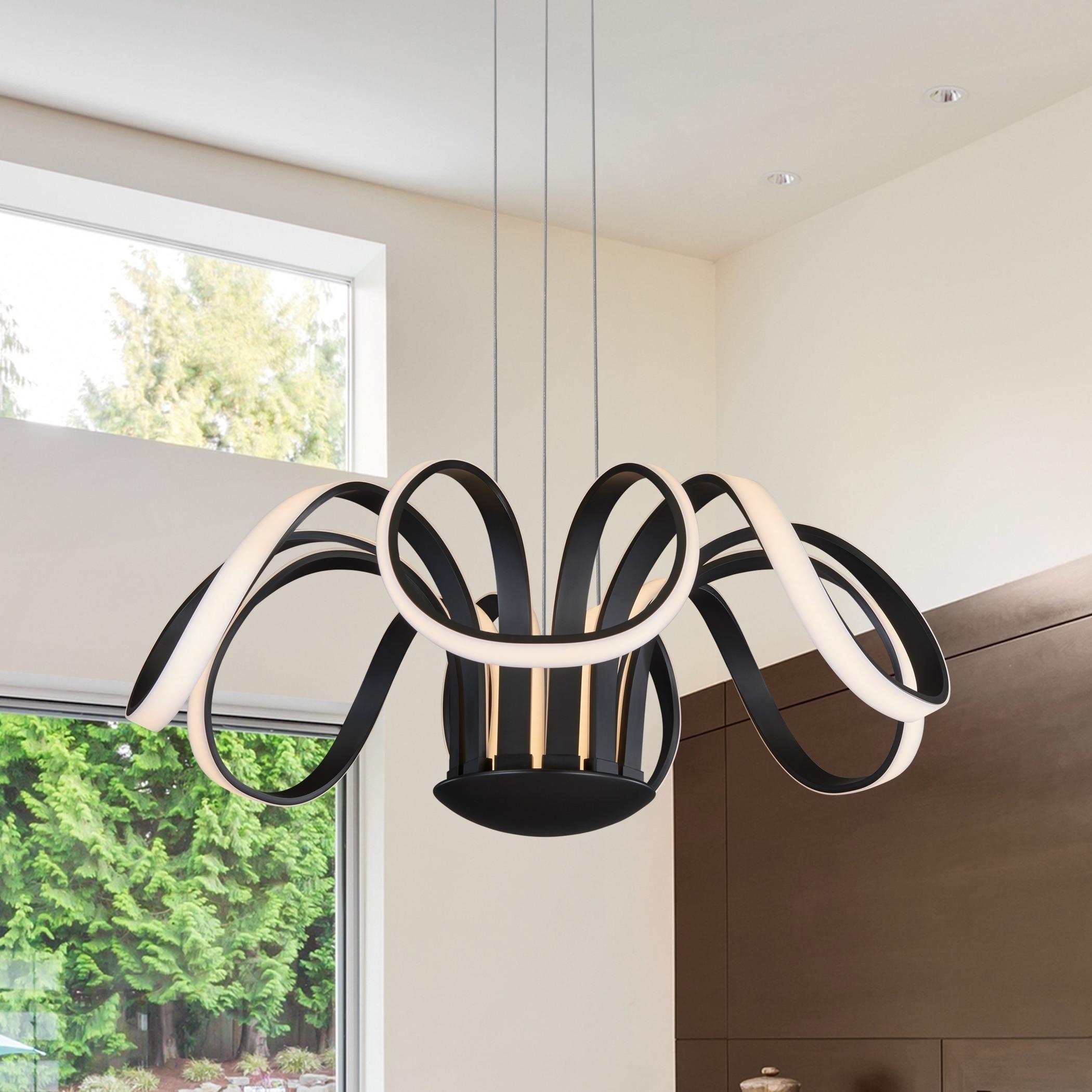 Vonn Lighting Capella 30-inches LED Adjustable Hanging Li...
