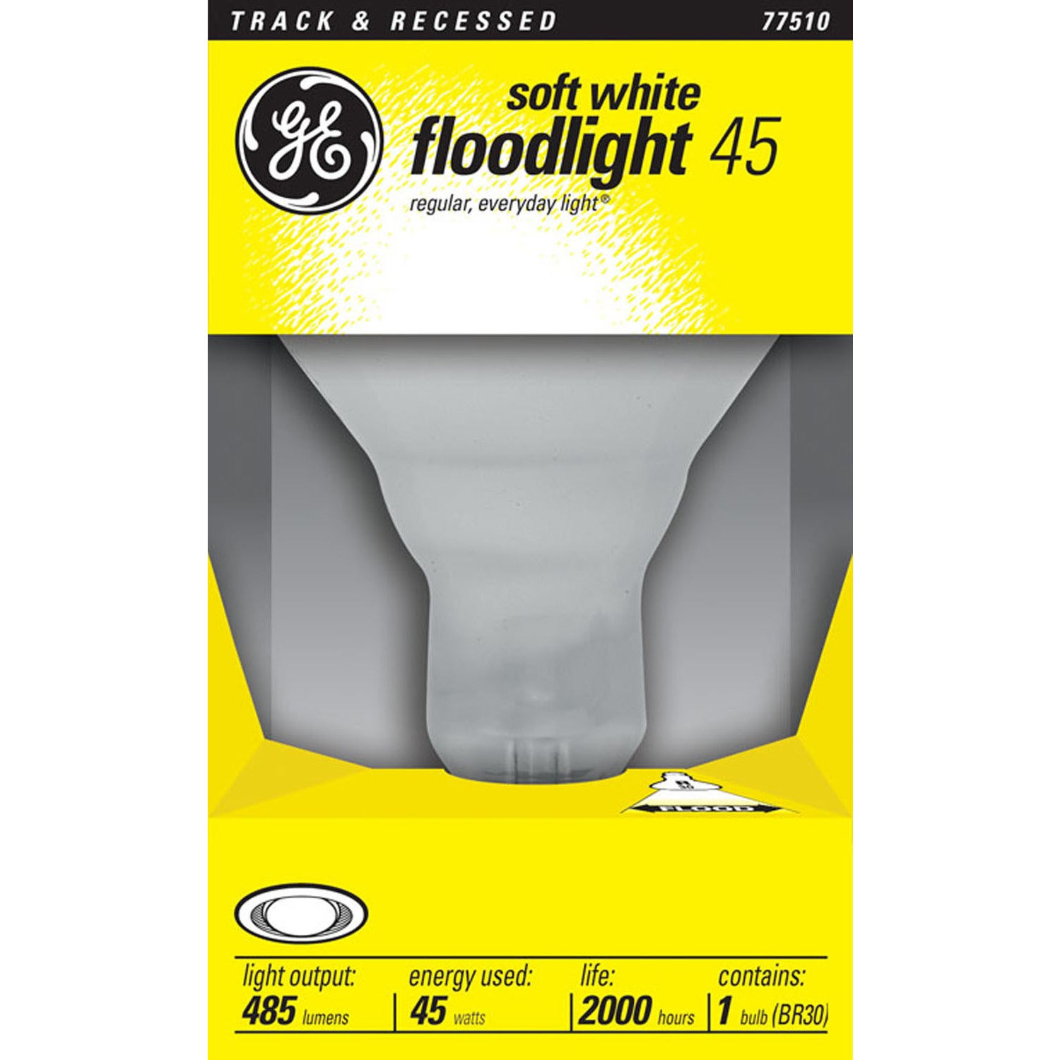 GE Lighting 20330 45 Watt Soft White Indoor Floodlight (L...