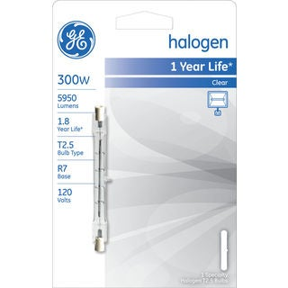 GE Lighting 19379 300 Watt Halogen Specialty Bulb