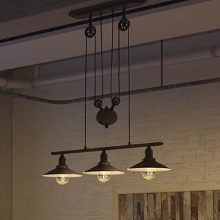 lighting island. VONN Lighting VVC31203SN Dorado 53-inch Linear Hanging Industrial Nickel Chandelier With LED Filament Island D
