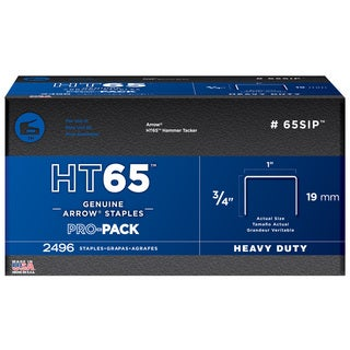 "Arrow Fastener 65SIP 3/4"" HT65 Staples"