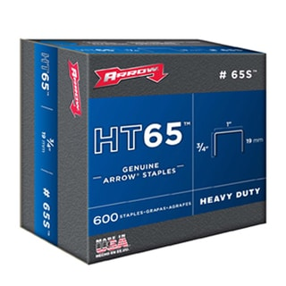 "Arrow Fastener 65S 3/4"" HT65 Staples"