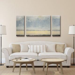 Ready2HangArt Norman Wyatt Jr. 'Warm Coastal Breeze' 3-piece Canvas Art Set