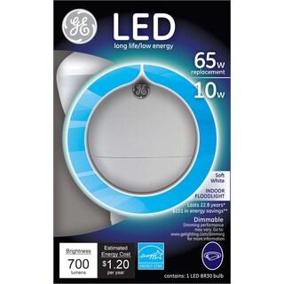 GE Lighting 89936 65 Watt Soft White R30 In Door LED Flood Light