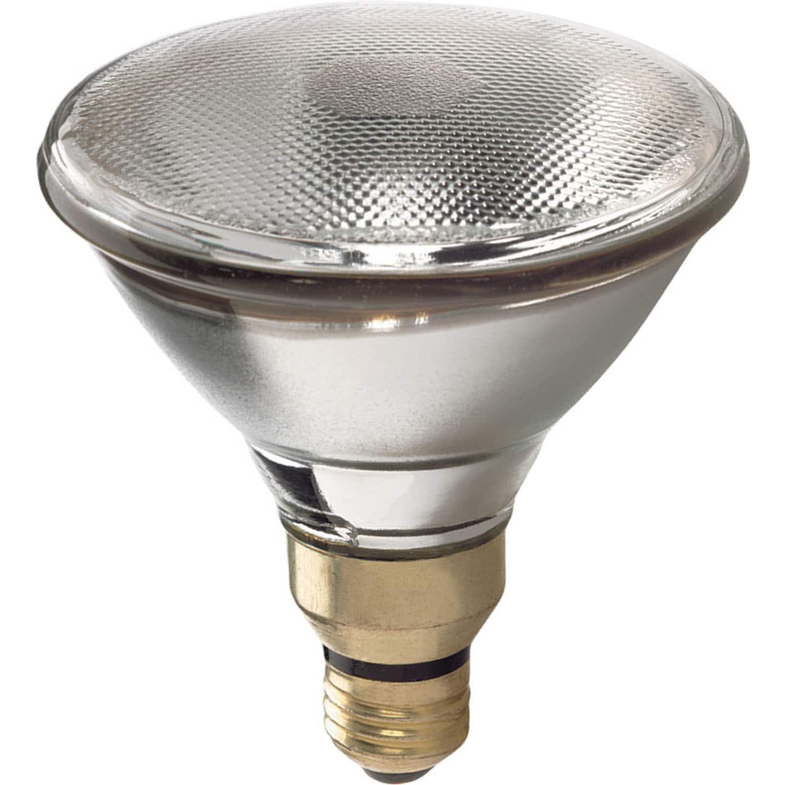 GE Lighting 62705 90 Watt White PAR38 Halogen Spot Light ...