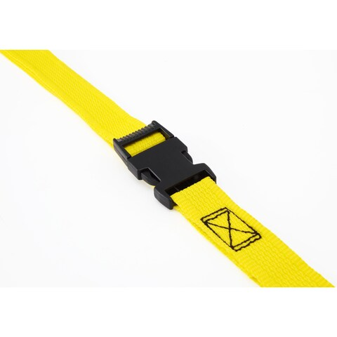 Pro Grip 502580 9' X 1-inch Lashing Strap With Side Release Buckle
