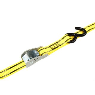 Pro Grip 412600 12' X 1-inch Aero Wing Release Tie Down With Hooks