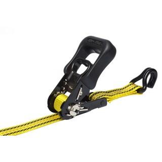 Pro Grip 325600 16' x 1-1/4-inch SureGrip Ratchet Tie Down With Hooks