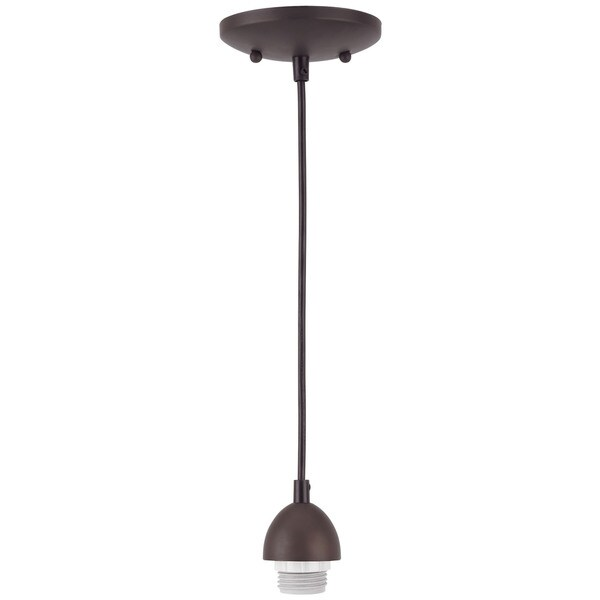 Westinghouse Oil Rubbed Bronze Pendant Light 15-1/4 in. D x 55 in. H x 5 in. W