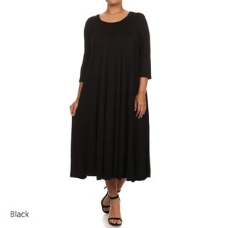 Women's Plus Size A-Line Dress (More options available)