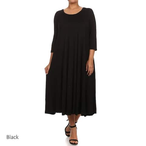 cd38da8298bb Buy Black Women's Plus-Size Dresses Online at Overstock | Our Best ...