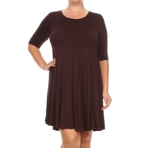 62bc79893545 Brown Dresses | Find Great Women's Clothing Deals Shopping at Overstock