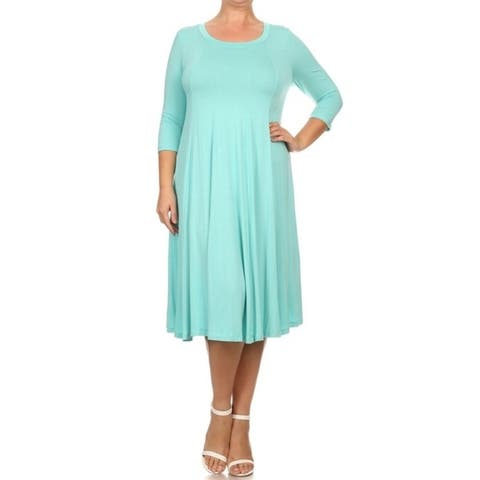 Buy Blue Women\'s Plus-Size Dresses Online at Overstock   Our Best ...