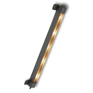 """Amertac SL10LB 10"""" 6 W Black Incandescent Plug-In Strip Light"""
