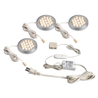 Amertac LSPD32KBCC LED Dimmable Accent Light 3-count